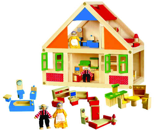 Dolls, Doll Houses & Families